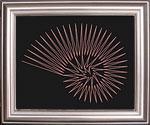 sea shell string art pattern