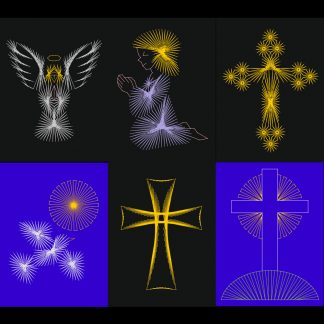 Religious String Art Patterns